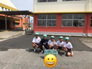 南指宿中学校の3年生を5名「職場体験」の受入れを行いました